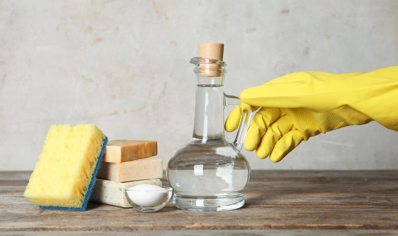 natural ingredients to spruce up a property without using harsh chemicals