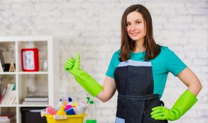 young professional is ready to spruce up a residential property